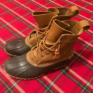 Authentic L.L. Bean Rubber Duck Boots Womens